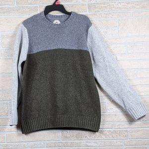 GANESH Crewneck Wool Blend Color Block Italy